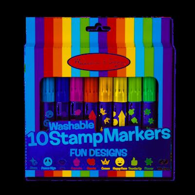 10 Stamp Markers - Fun Designs