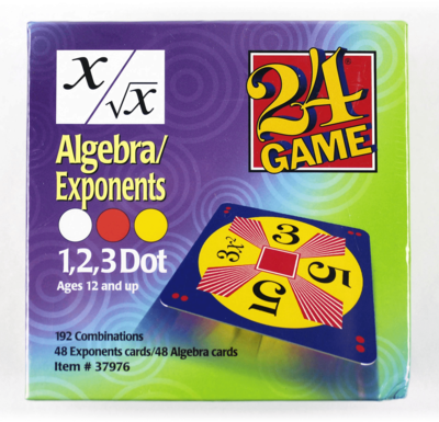 24 Math Algebra and Exponents