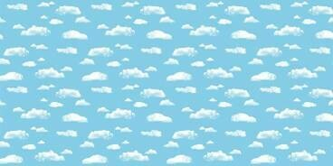 Blue Clouds Fadeless Paper