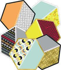 Aim High Hexagon Assorted Cut-Outs (36)
