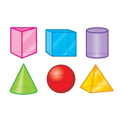 3-D Shapes Variety Pack Mini Accents