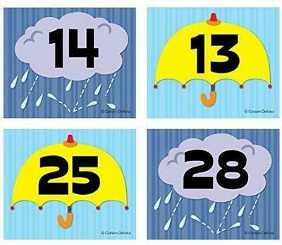 Umbrella/Cloud Calendar Cover-Ups