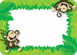 Monkey Business Labels