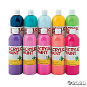 Finger and Craft Paint