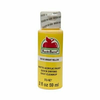 Apple Barrel  Yellow Acrylic Paint 2 oz
