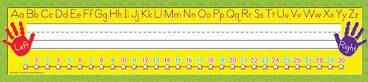 Right/Left Alphabet Super Jumbo Name Plates