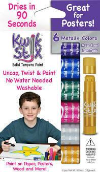 Kwik Stix 6 Metalix Colors