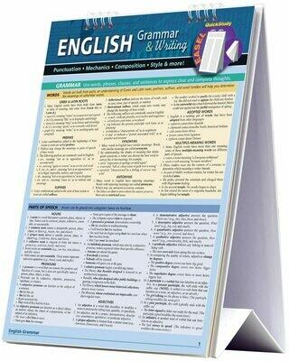 Quick Study English Grammar