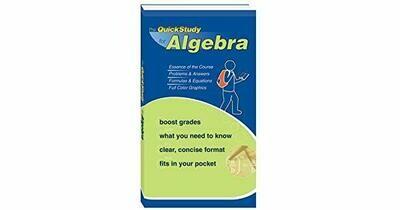 The Quick Study for Algebra
