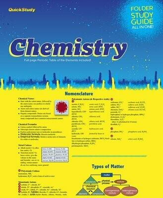 Quick Study Folder & Study Guide Chemistry