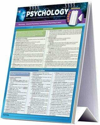 Quick Study Easel Psychology