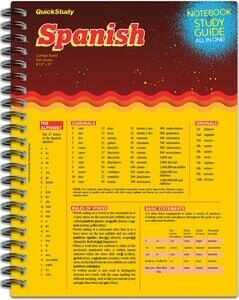 Quick Study Notebook & Study Guide Spanish
