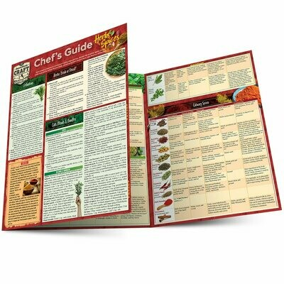 Quick Study Craft Cooking:  Chefs Guide Herbs & Spices