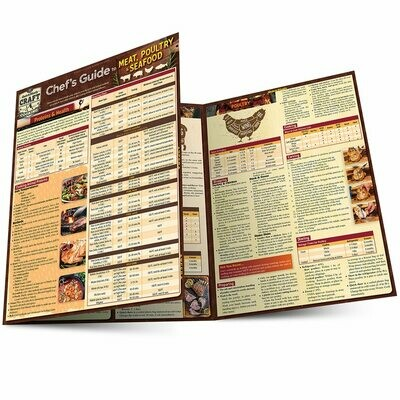 Quick Study Craft Cooking: Chef's Guide Meat and Poultry