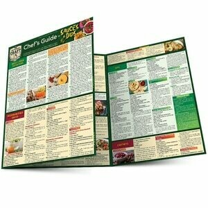 Quick Study Craft Cooking Chef's Guide Sauces Dips