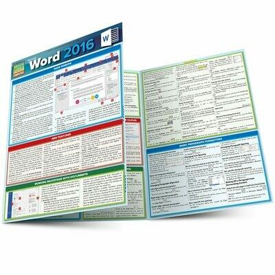 Quick Study Computer: Word 2016