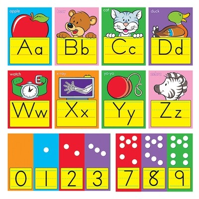 ABC Fun Alphabet Zaner-Bloser Manuscript Line