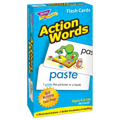 Action Words (flash cards)