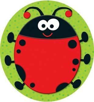 2 sided decoration ladybug