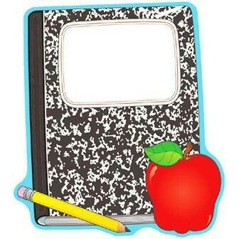 2 sided decoration composition book