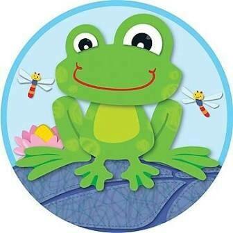 2 sided decoration frog