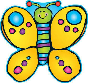 2 Sided Butterfly Decoration