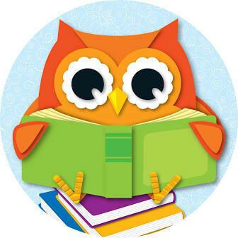 2-Sided Reading Owl Decoration