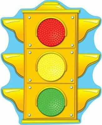 2-sided stoplight decoration