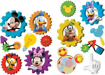 2 Sided Decoration  Kit Mickey Mouse Clubhouse