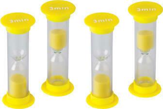 3 Minute Sand Timers - Mini