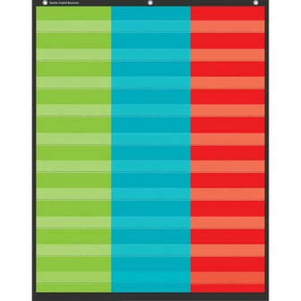 3 Column Pocket Chart (34