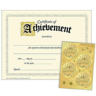 Achievement (Excellence Seals)
