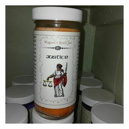 Justice, Magrat Spell Jar, Regular