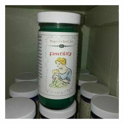 Fertility Candle, Magrat Spell Jar, Retail