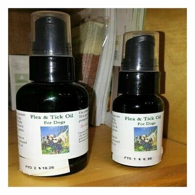 Flea n Tick Oil For Dogs, Small