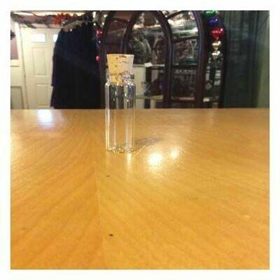 Bottle  Dram w/Cork, 4 Dram