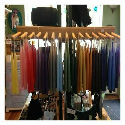 Candles - Tapers, Pair, Assorted Colors