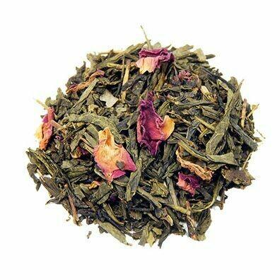 Sencha Kyoto Cherry Rose Green Tea