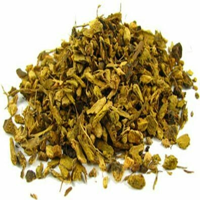 Yellowdock Root (cut & sifted)