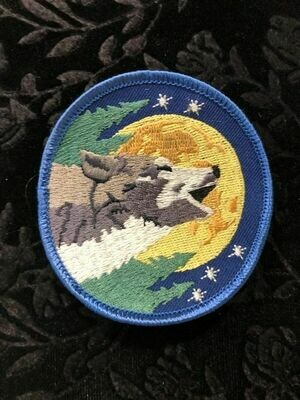 Patches, Wiccan, Wolf
