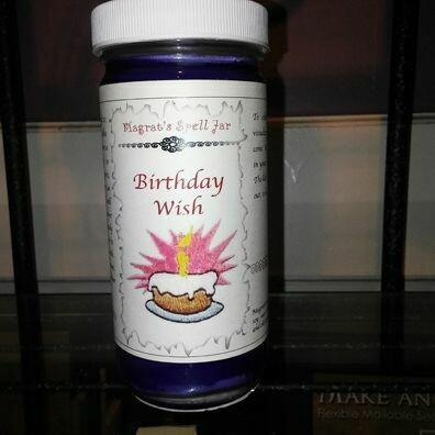 Birthday Wish, Magrat Spell Jar, Retail