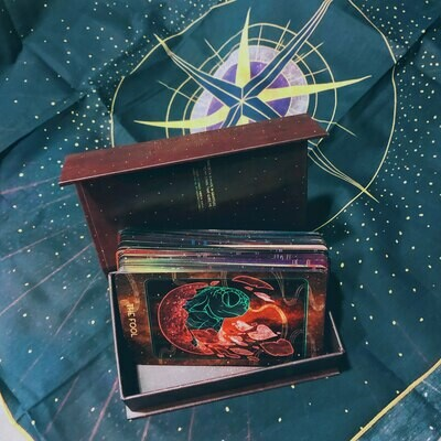 Oriens Tarot Deck with Tarot Cloth Set - First Edition