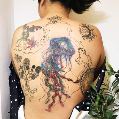Oriens Tarot Tattoo License