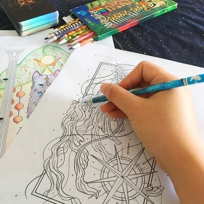 4-page Coloring Sheets ( Free Digital Download )