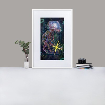 The Star Framed Poster With Mat