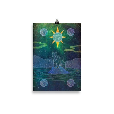 Five of Pentacles Poster