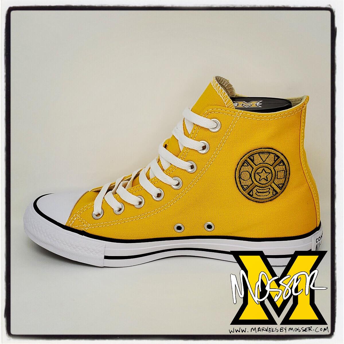 Custom Converse Zeo Yellow