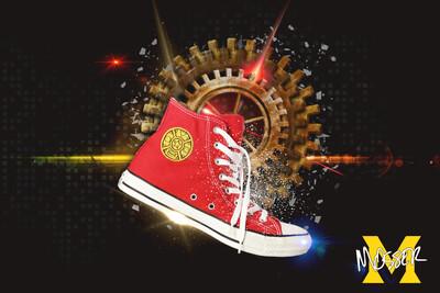 Custom Converse Zeo Red