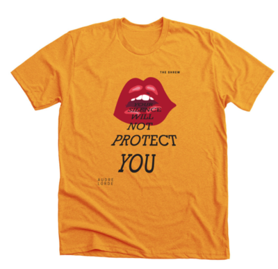 Gold #SpeakOut Campaign T-Shirt