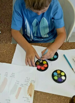 Watercolour for Kids - 10am to 12pm Tuesday 14 April